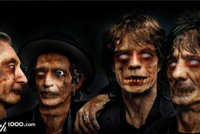 Rolling Stones versão zumbi!