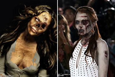 Jennifer Lopez e Lindsay Lohan