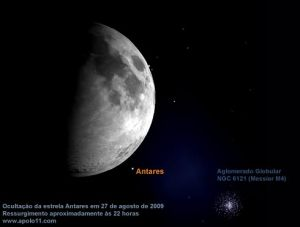 A hipergigante Antares fará um fenômeno bem legal quinta-feira...