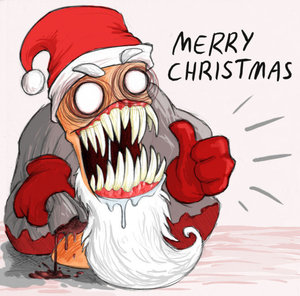 Contos Sombrios de Natal - Imagens Evil_santa